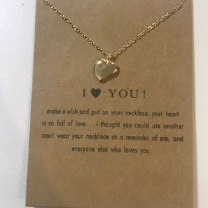 I LOVE YOU ❤️ Dainty Necklace